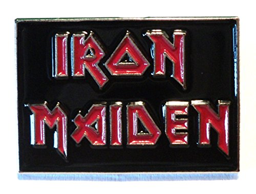 Iron Maiden Heavy Metal Group Rockband Metall Emaille Pin Badge
