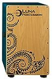 Best Cajons - Luna Cajon with Gig Bag, Teal Review