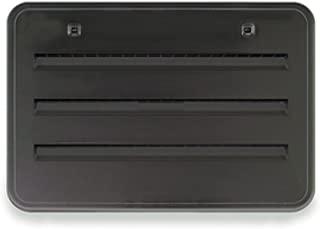 Norcold 621156BK Plastic Radius Corner Side Vent, Black