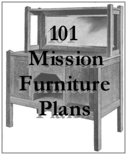 101 Mission Furniture Plans You Can Build (English Edition)