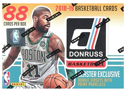 2018/2019 Panini Donruss NBA Basketball EXCLUSIVE HUGE Factory Sealed Retail Box with AUTOGRAPH or MEMORABILIA Card! Look for Rookies & Autos of Luka Doncic, Deandre Ayton, Trae Young & More! WOWZZER!