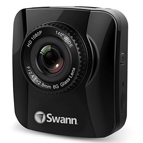 "Swann Navigator HD Dash Camera 2.0"" LCD with GPS Dash Camera Security Camera, Black (SWADS-140DCM-GL)"