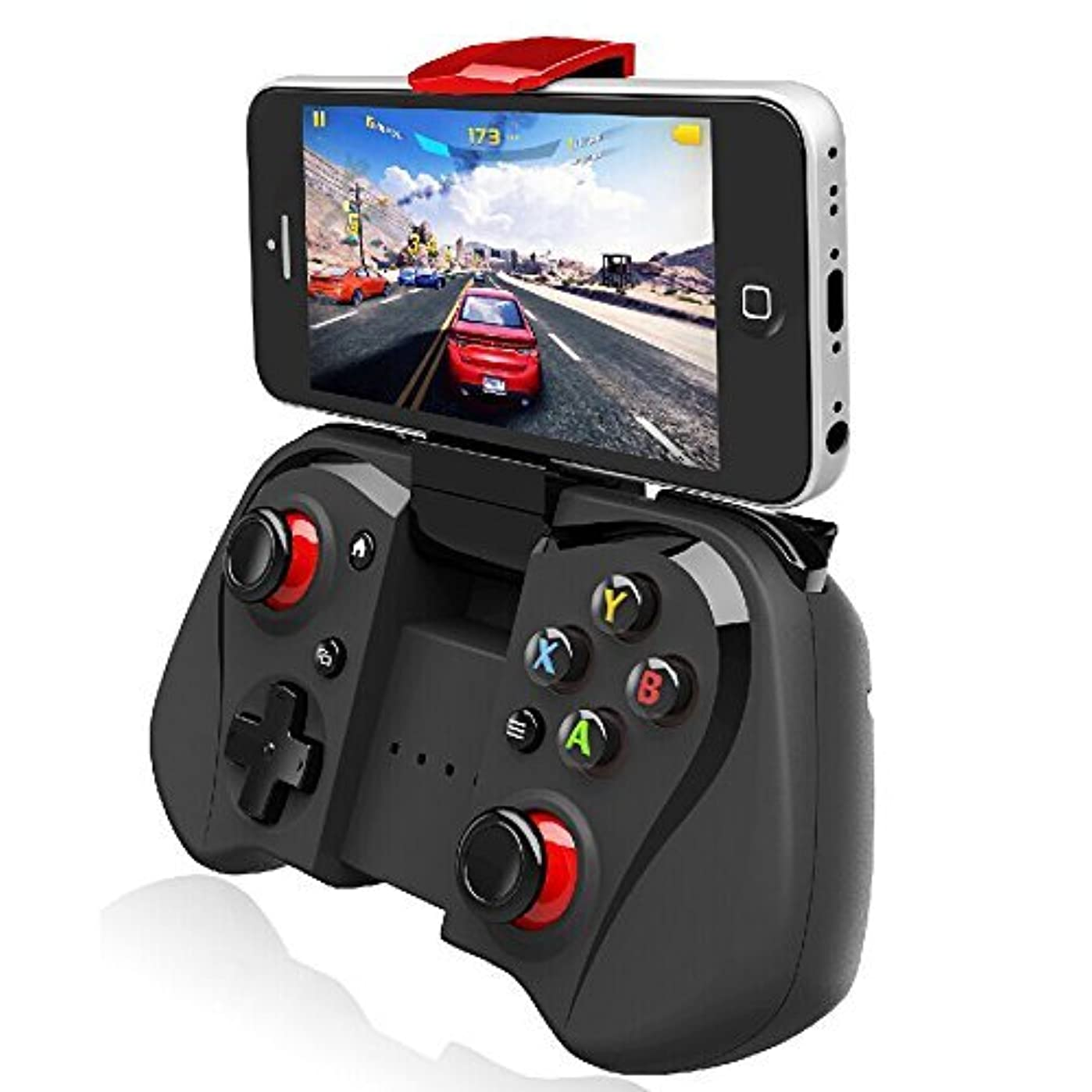 許される待って海上Megadream? Telescopic Wireless Bluetooth 3.0 Game Gaming Controller Gamepad Joystick For Android Smartphone Tablet PC and Laptop Computer - Support Windows 8 7 XP System & Android TV box / Android TV by Megadream [並行輸入品]