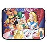 Laptop Sleeve Bag Cute Alice in Wonderland Notebook Computer Pocket Case Cover Compatible 13-15 Inch Notebook