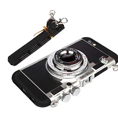 Emily in Paris 3D Phone Case Vintage Camera for iPhone MAX Awsaccy