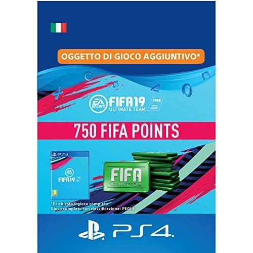 FIFA 19 Ultimate Team - 750 FIFA Points   Codice download per PS4 - Account italiano