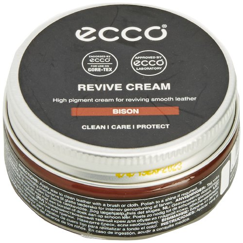 Ecco Ecco Revive Cream Schuhcreme & Pflegeprodukte, Braun (Bison) 50.00 ml