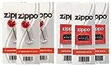 Zippo - Encendedor para velas (6 pack flints wicks)