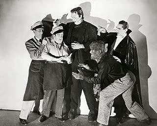 Bela Lugosi and Glenn Strange and Boris Karloff in Bud Abbott Lou Costello Meet Frankenstein 16x20 Poster