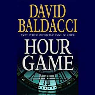 Hour Game audiobook cover art