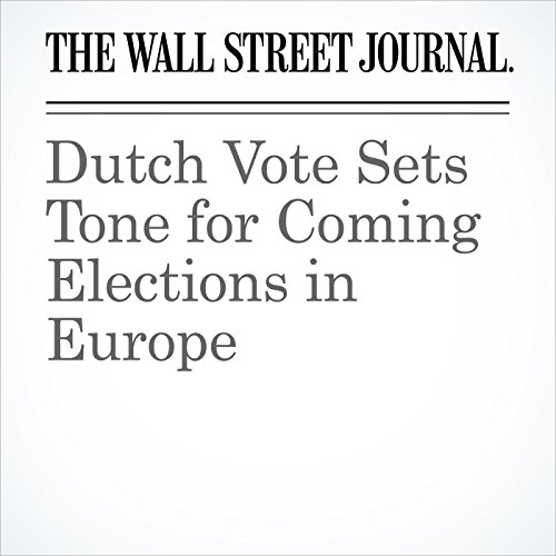 Dutch Vote Sets Tone for Coming Elections in Europe copertina
