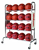 basketball rack - Wilson Deluxe Basketball Ball Rack