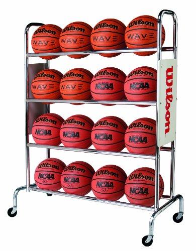 Wilson Deluxe Basketball Ball Rack