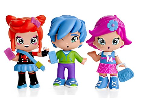 PINY Pinypon by Pack de 3 figuras, Michelle, Rita y Sam, surtido 1 (Famosa 700013378)