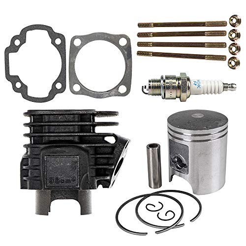 NICHE 90cc Engine Piston Cylinder Gasket Top End Kit For 2001-2006 Arctic Cat BRP Polaris 90 Predator Sportsman