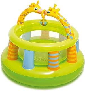 WZHZJ Valla Castillos Hinchables Juguete de Arrastre Piscina Hinchable en la Piscina Cubierta Juego de la Piscina Inflable Castillo de Juguete Juego Valla Mejor Regalo for los niños