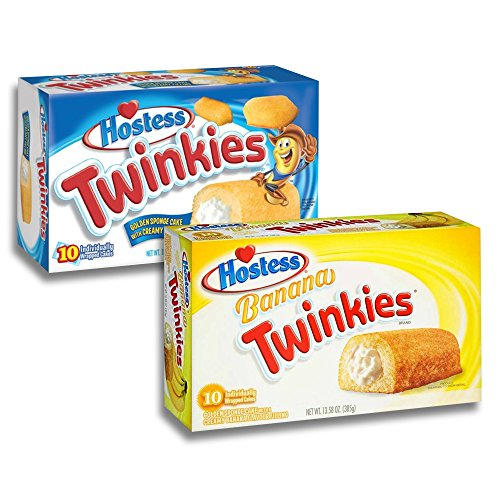 Twinkies Twin Pack - 1x Original Twinkies 1 und 1x Banana Twinkies