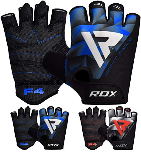 RDX Fitness Handschuhe Trainingshandschuhe Handgelenkschutz Gewichtheben krafttraining Bodybuilding Sporthandschuhe Workout Gym Gloves (MEHRWEG)