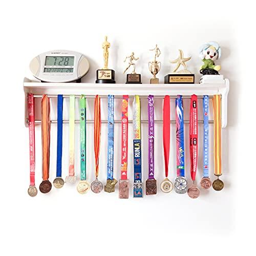ABCSS Expositor de medallas,Estante de exhibición de trofeos y medallas,Estante de exhibición Tridimensional Multifuncional,Estante de colección de Honor Creativo,Estante de Pared Simple