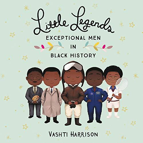 Little Legends: Exceptional Men in Black History Audiobook By Vashti Harrison, Kwesi Johnson cover art