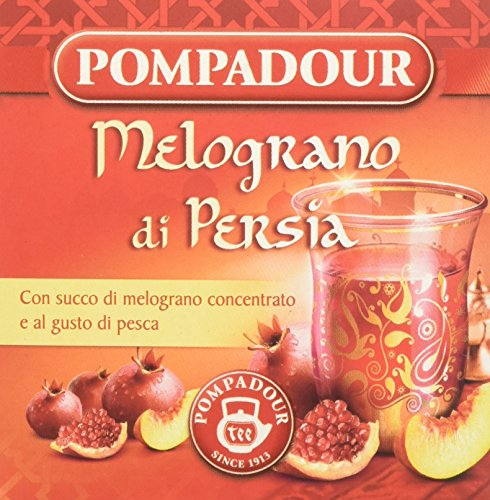 Pompadour Melograno di Persia, 10 Filtri