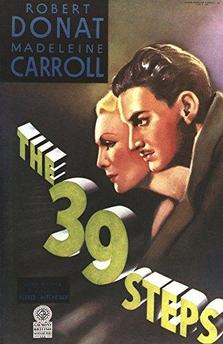 Posterazzi EVCMCDTHNIEC012 The 39 Steps Movie Poster Masterprint 11 x 17