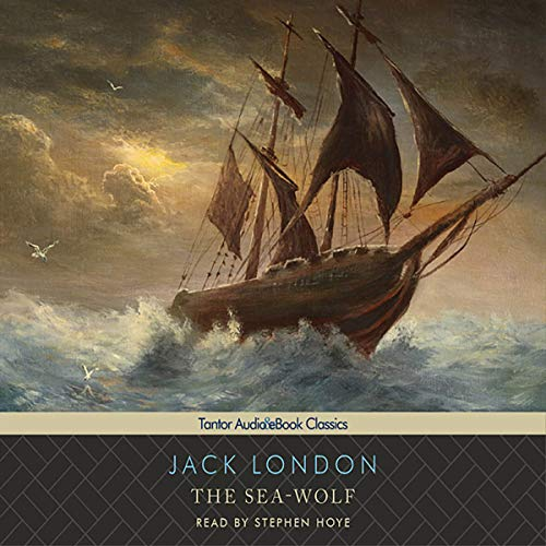 The Sea-Wolf audiobook cover art