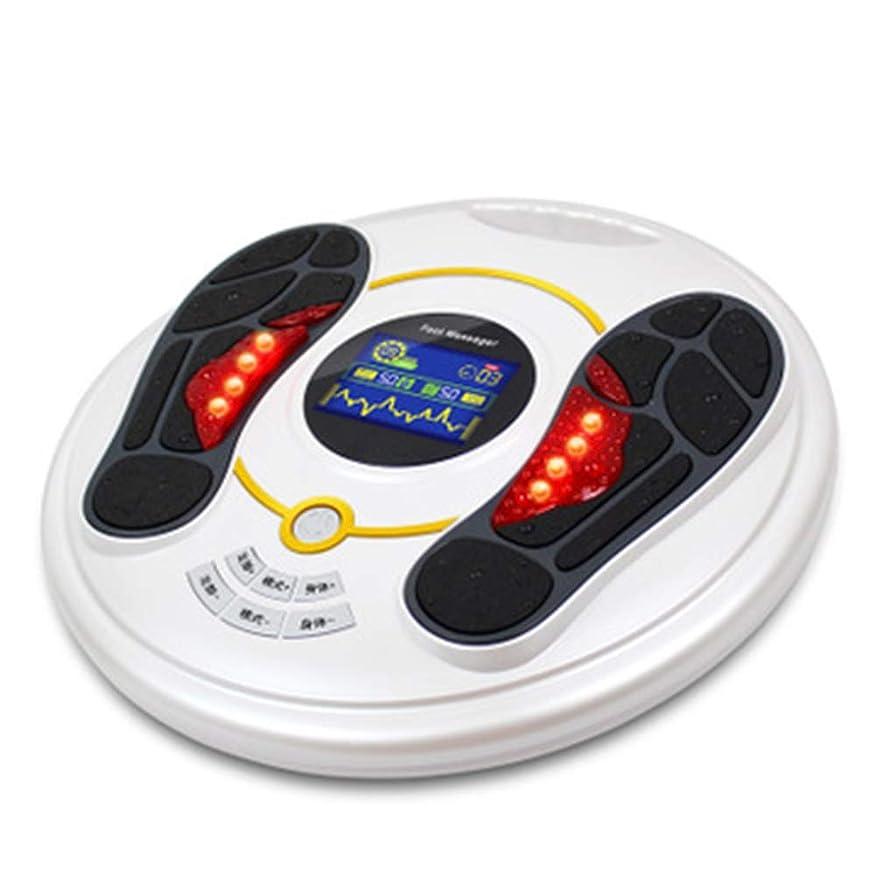 トリム検出有利足と足のマッサージ機 - 熱と足のマッサージ機 - 血液循環を改善し、痛みや痛みを和らげます - ホームオフィスの使用