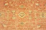 Teppichprinz Chobi-Ziegler 220x169cm Orientteppich Handgeknüpft Afghanistan Carpet Rug - 2