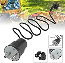 Gray Cat 1PCS, 1pc New Electric Barbecue Rotisserie Roaster Motor Pike Rotator 220~240V Grill Motor