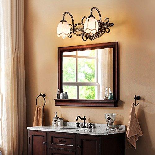 WWW Tafellamp, retro, spiegeldecoratie, wastafel, badkamer-plafondlamp