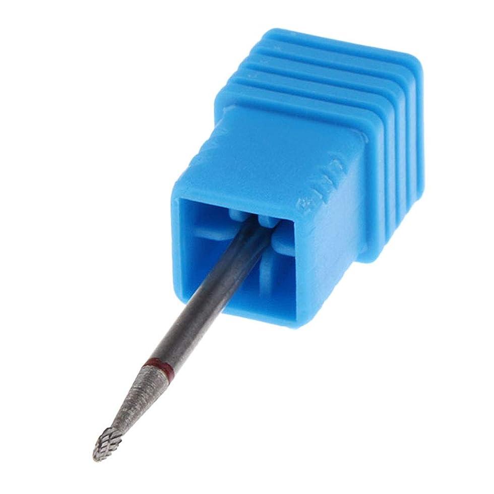 泥だらけ悩みテメリティB Blesiya 全5サイズ ネイルドリルビット 電気ファイルバフビット - No.01