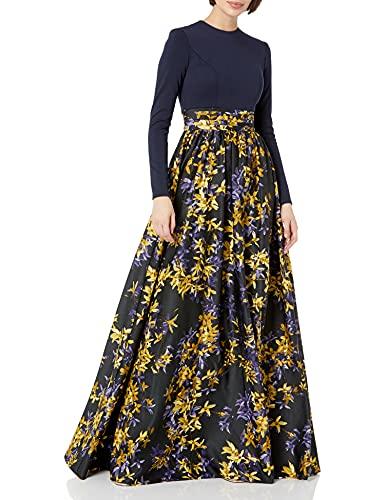 v28a long sleeve dresses Mac Duggal Women's Long Sleeve Gown
