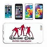 Reifen-Markt Hard Cover - Funda para teléfono móvil Compatible con Apple iPhone 6 Walking Dead Zombie Apocalypse película del Fin del Mundo