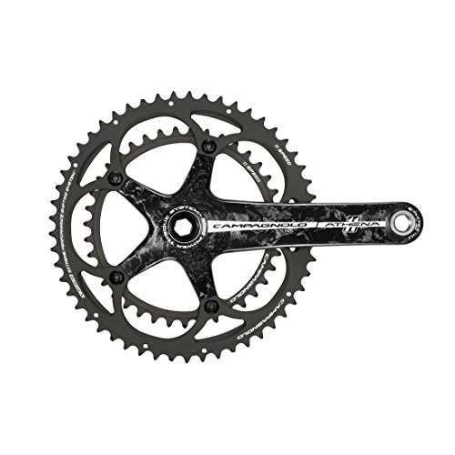 Campagnolo Athena Carbon Power-Torque 11 Speed Double Standard 39/52 Crankset 170mm