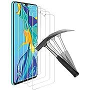 ANEWSIR 4 Stück Schutzfolie Kompatibel mit Huawei P30 Displayschutzfolie, Einfache Installation, Anti-Bläschen, Anti-Kratzen, Displayschutz Displayschutzfolie Folie.