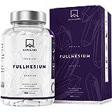 FULLNESIUM® Komplex [ 1561 mg ] - Magnesium Chelat Hochdosiert Supplement - 180 Kapseln - 5 Arten Magnesium: Citrat, Bisglycinat, Malat, Oxid