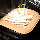 NCBH Car Seat Cushion,Cooling Seat Cover Car Seat Cushion Pad,Air Conditioned Seat Cover with Car Fan for Car Truck Office USB Powered