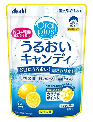 アサヒグループ食品 うるおいキャンディ(レモン味) 57g×12袋入