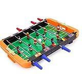 YLJJ Máquina de futbolín de Juguete de futbolín para niños, Adecuado para Deportes de Ocio en Interiores y Exteriores, Grande, 35.5X35X6cm (1kg)