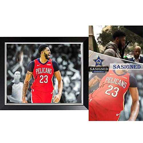 Anthony Davis signed autographed photo sasigned coa proof framed