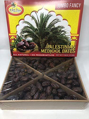 Palm Garden, PALESTINE Medjool Dates: 5Kg 11 lb Pack (Red)️