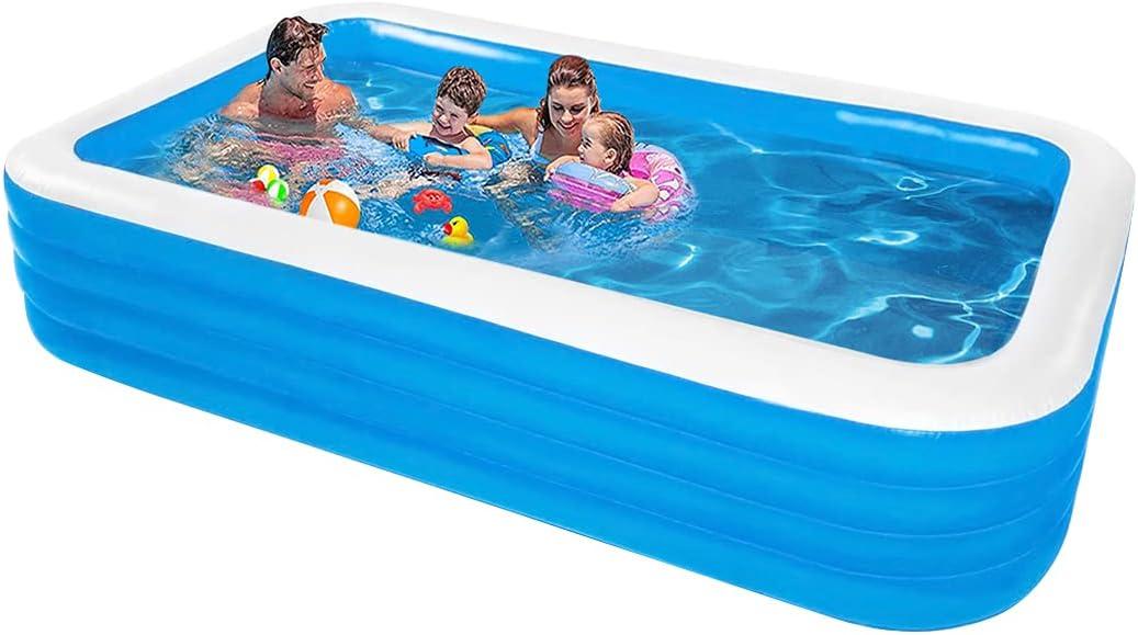 HR Overseas parallel Max 41% OFF import regular item Kiddie Pool Family Inflatable 125