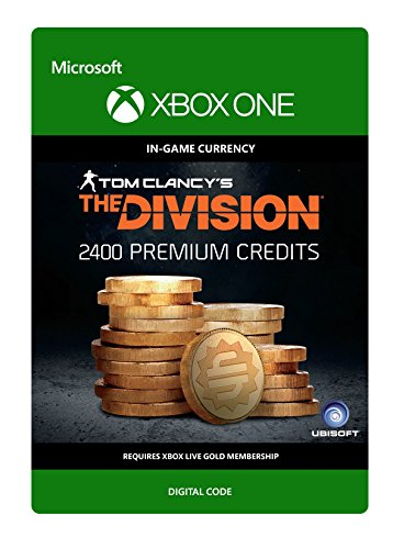 Tom Clancy's The Division: Currency pack 2400 Premium Credits - Xbox One [Digital Code]