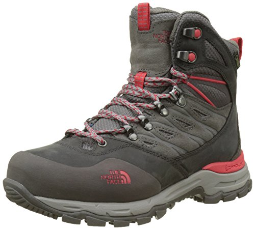 THE NORTH FACE Damen Hedgehog Trek Gore-tex Trekking- & Wanderschuhe, Grau (Dark Gull Grey/red), 40 EU