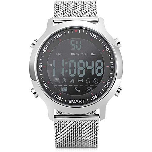 LABYSJ Smartwatch Sport Smartwatch Mit Digitalanzeige, Wasserdicht, Anrufbenachrichtigungen, Sozialen Netzwerken Und Messaging, Sportfunktionen, Schrittzähler