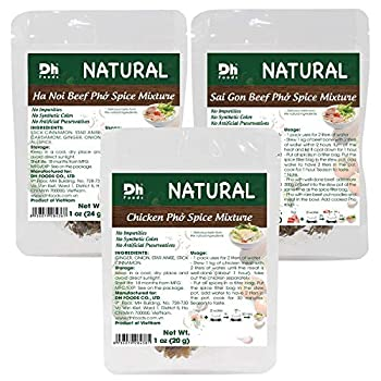 Dh Foods Pho Spice Packet   Beef Pho & Chicken pho soup seasoning   3 Flavor Variety Pack  3 packs