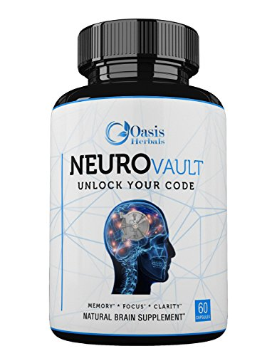FOCUS SUPPLEMENT TO STAY RAZOR-SHARP with our exclusive blend of brain boosting vitamins, minerals and nutrients. De-clutter your medicine chest and take 1 complete supplement to ward off depression, anxiety and mental decline. ENHANCE MIND IQ AND NE...