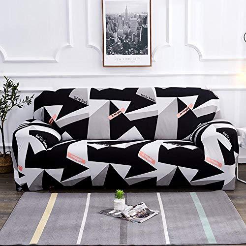 HXTSWGS Protector de Muebles Fundas sofá,Fundas sofᠠTodo Incluido Antideslizante seccional en Forma de L Funda de sofá de Esquina Funda elástica para sofá 1/2/3/4 plazas-6_4-plazas (230-300cm)