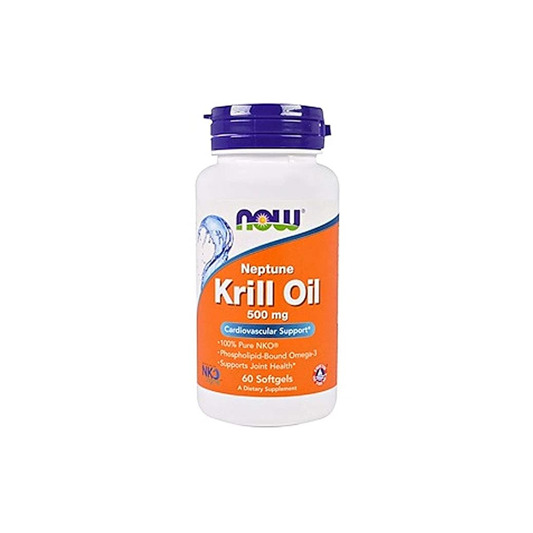 報復する美容師ほとんどの場合[海外直送品] ナウフーズ   Neptune Krill Oil 60 Sgels 500 mg